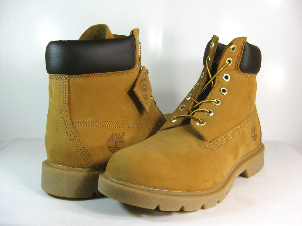 timberland mens 6 inch basic wheat tb018094 boots ebay. Black Bedroom Furniture Sets. Home Design Ideas