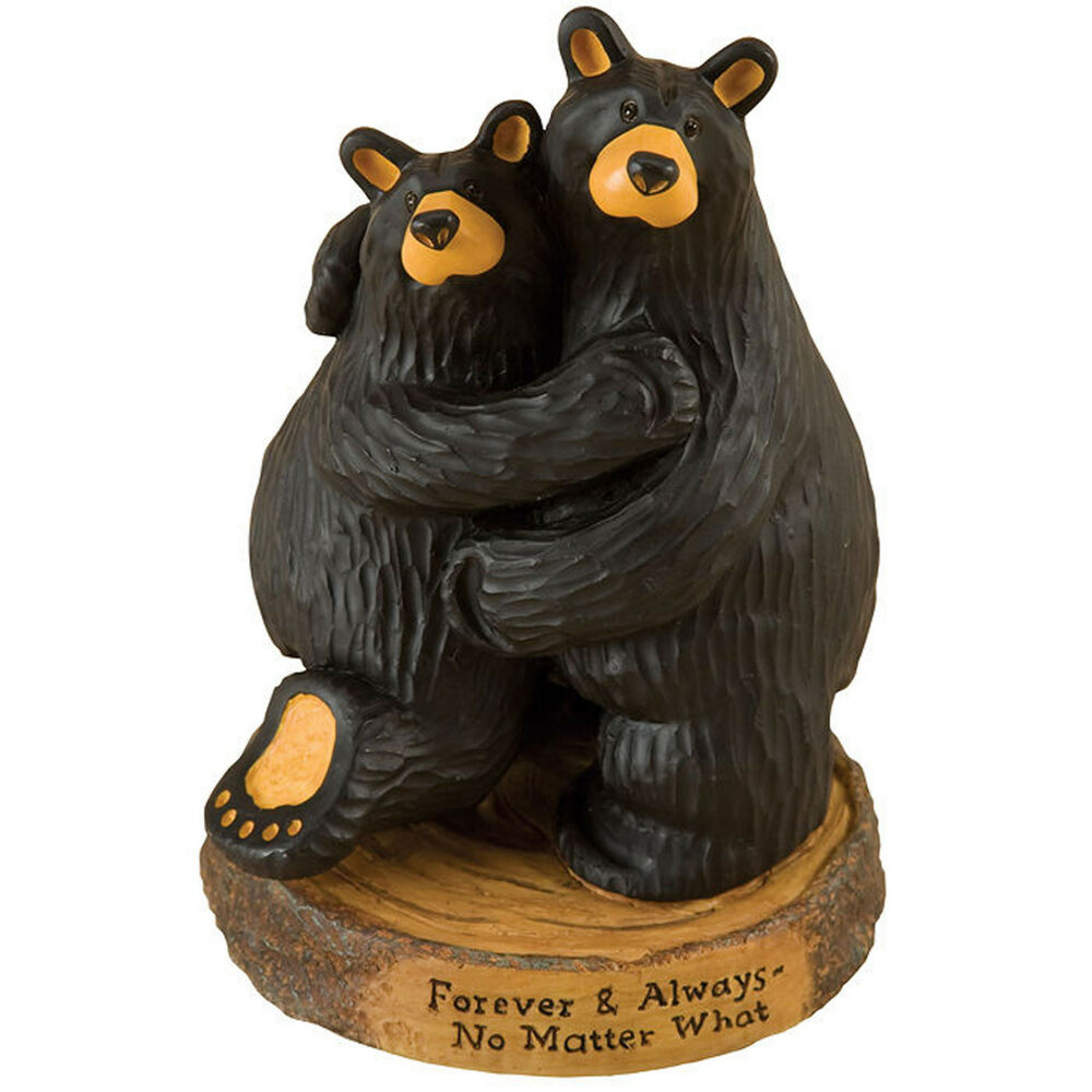 Big sky carvers bearfoots bear forever always figurine