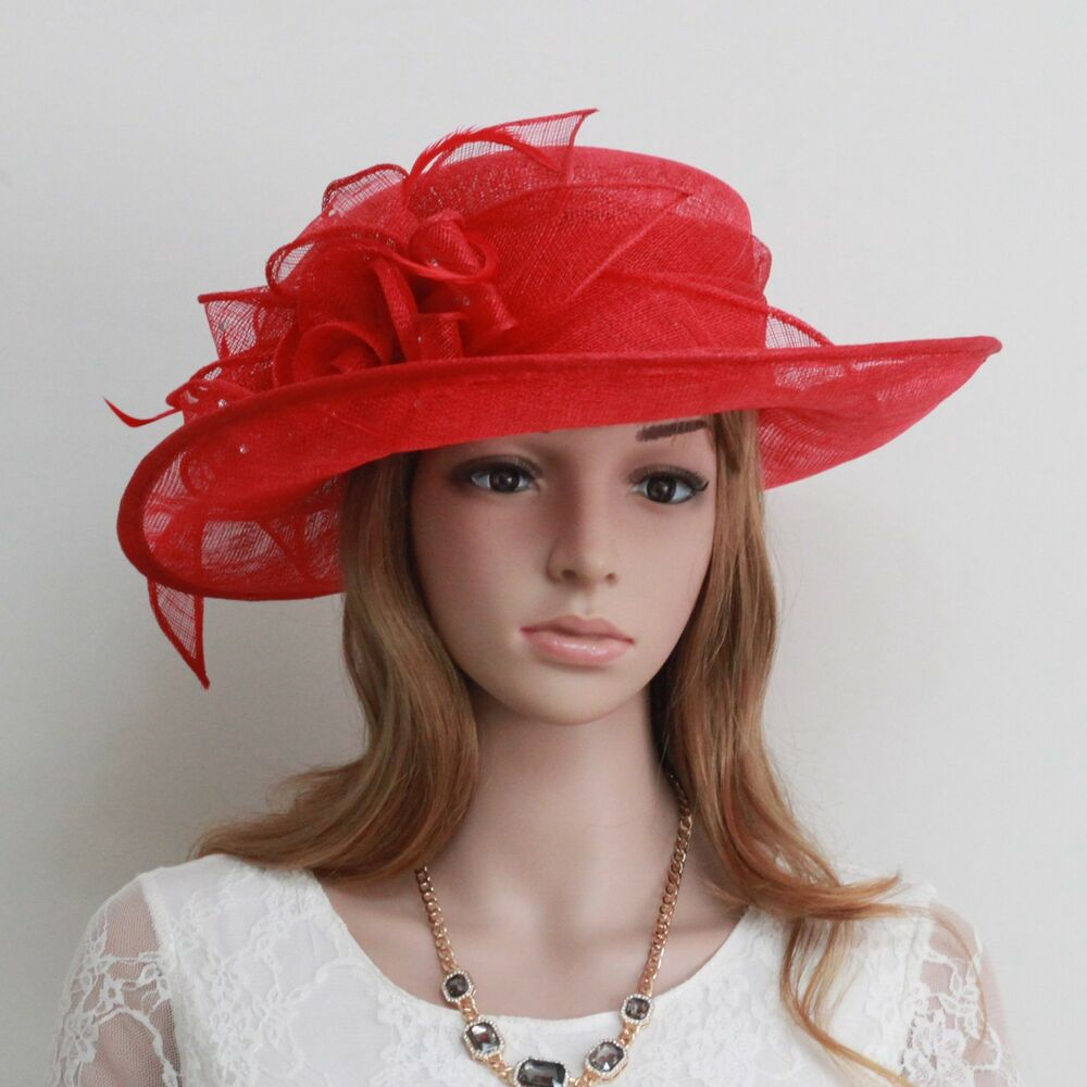 New woman church kentucky derby wedding cockctail party for Dress hats for weddings