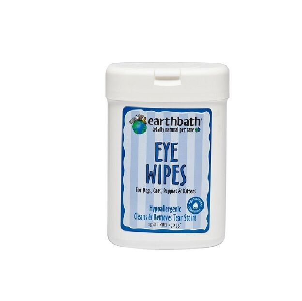 Earthbath Specialty Eye Wipes For Dogs Cats Amp Pets