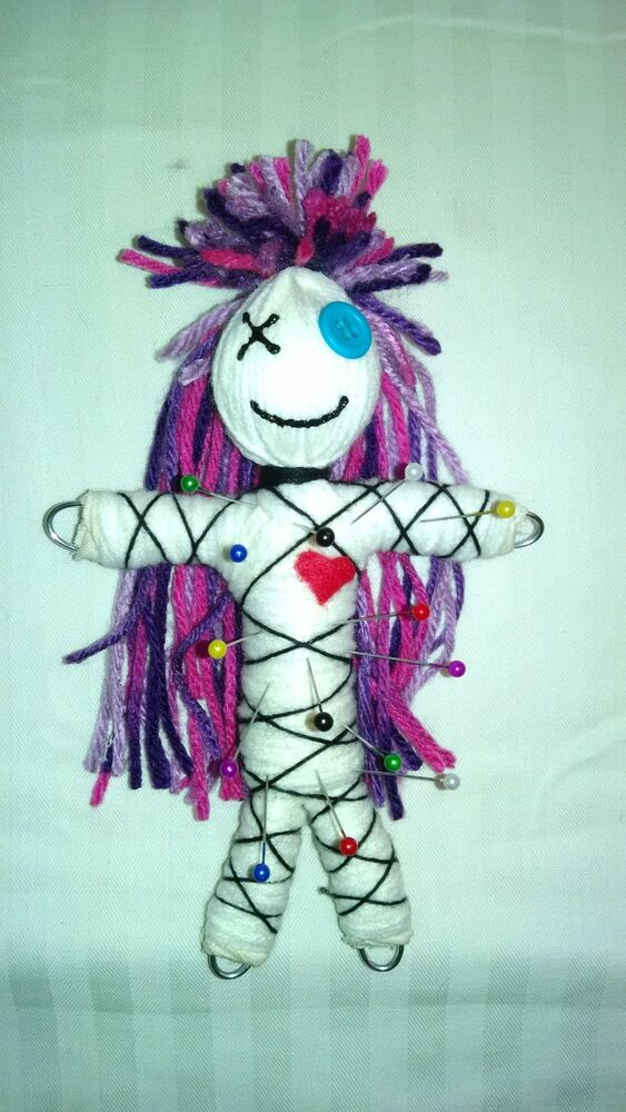 Authentic voodoo dolls