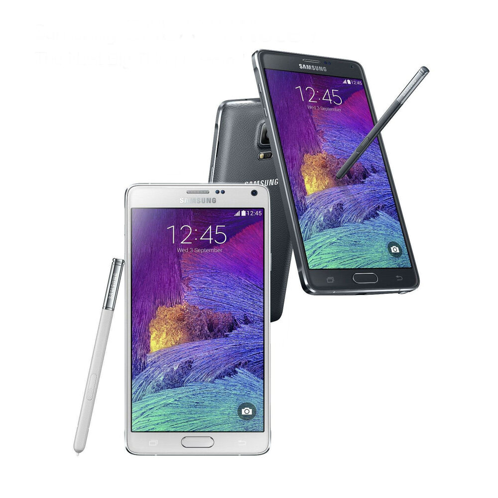 samsung galaxy note 4 4g lte gsm n910a latest model factory unlocked 32gb frb ebay. Black Bedroom Furniture Sets. Home Design Ideas