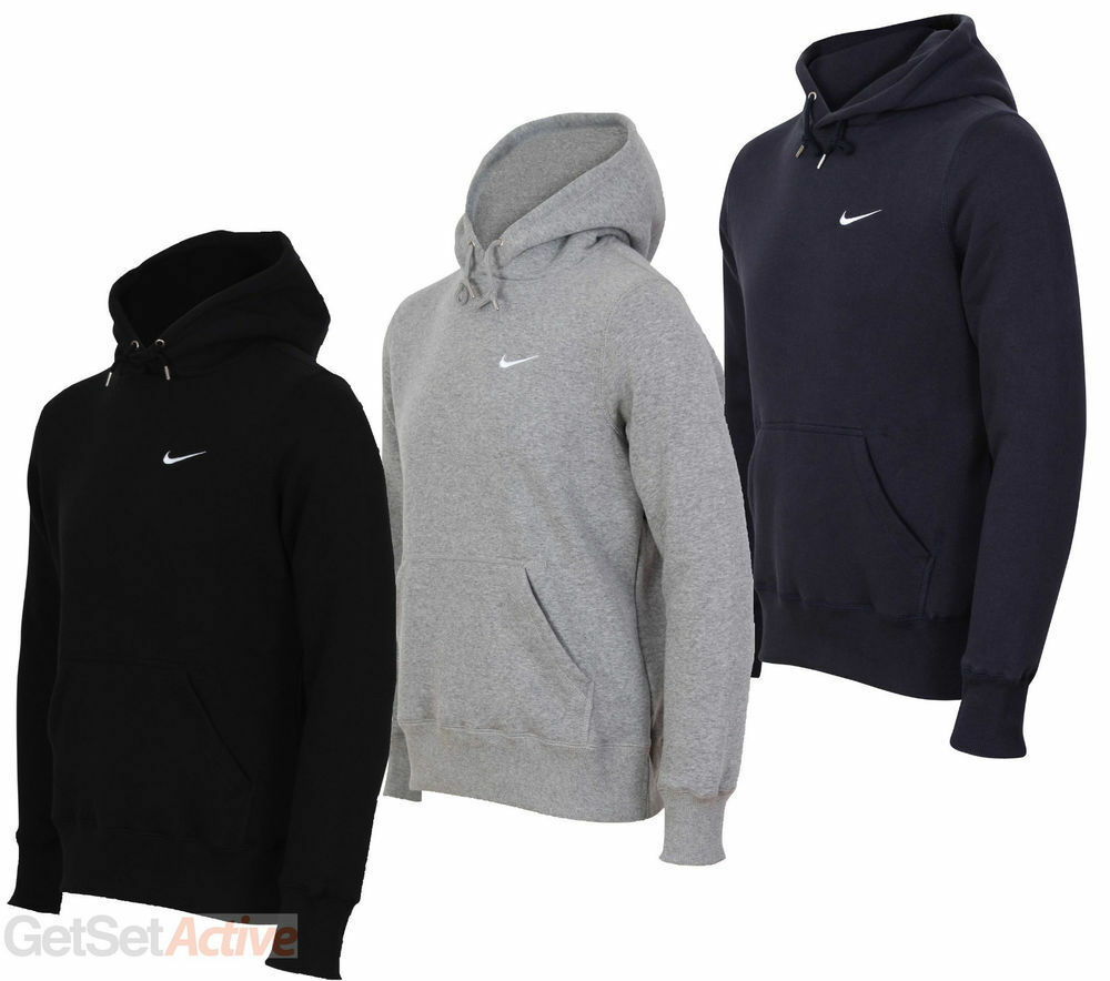 Nike Swoosh Hoodie Hooded Sweatshirt MEN Sizes Small Medium Large ...