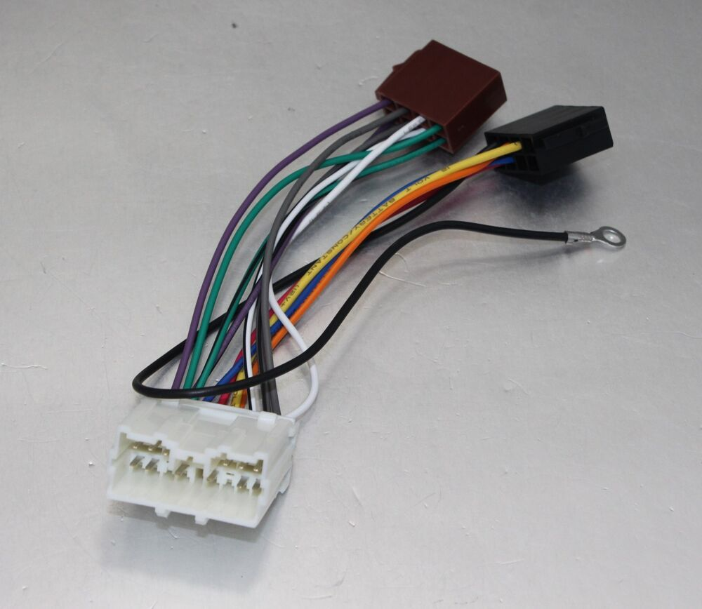 Aps Iso Wiring Harness For Mitsubishi Lancer Pajero Shogun