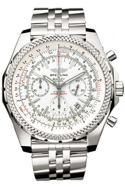 Breitling bentley motors stainless steel special edition for Breitling 1884 bentley motors special edition a25362