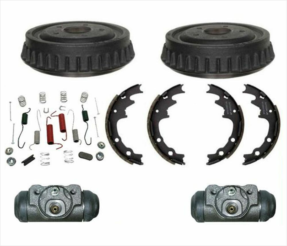 9 quot x 1 3 4 quot rear drums wheel cylinders shoes amp springs kit mazda b4000 engine parts diagram #3