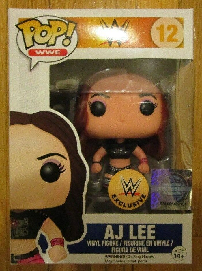 Funko Pop Aj Lee Wwe Exclusive Vinyl Figure Wrestling