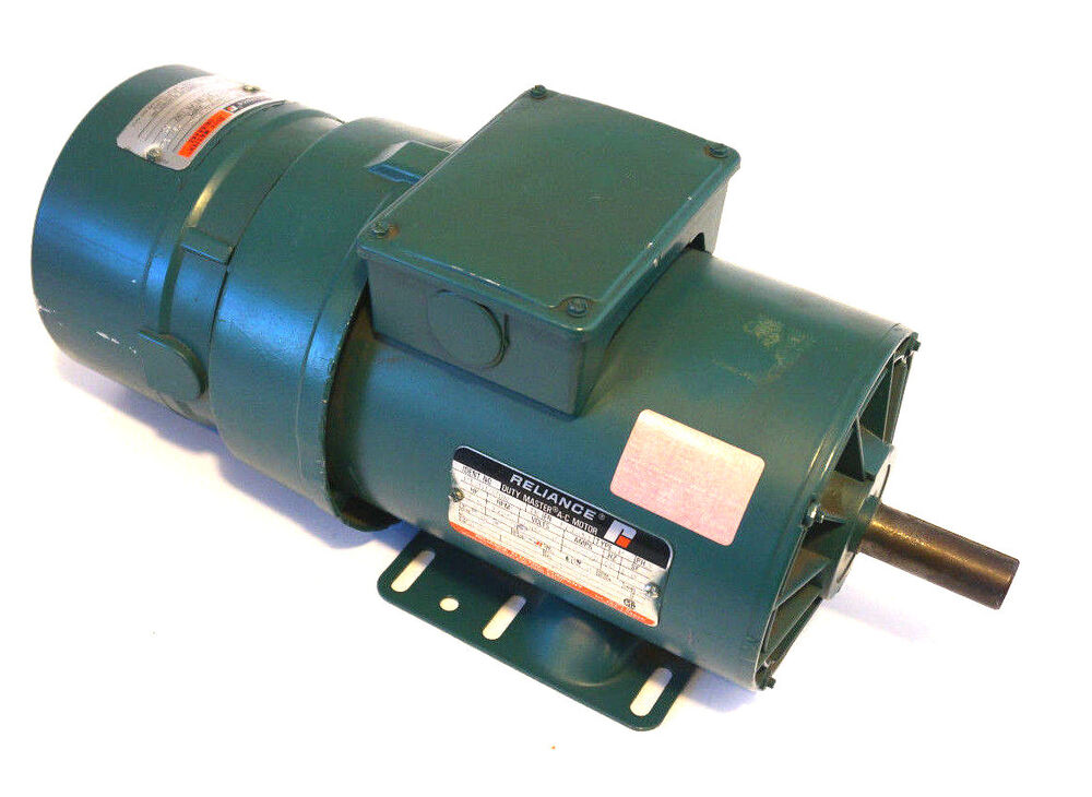 New reliance electric p14h1938n tk ac motor 1 5 hp w for 1 5 hp electric motor