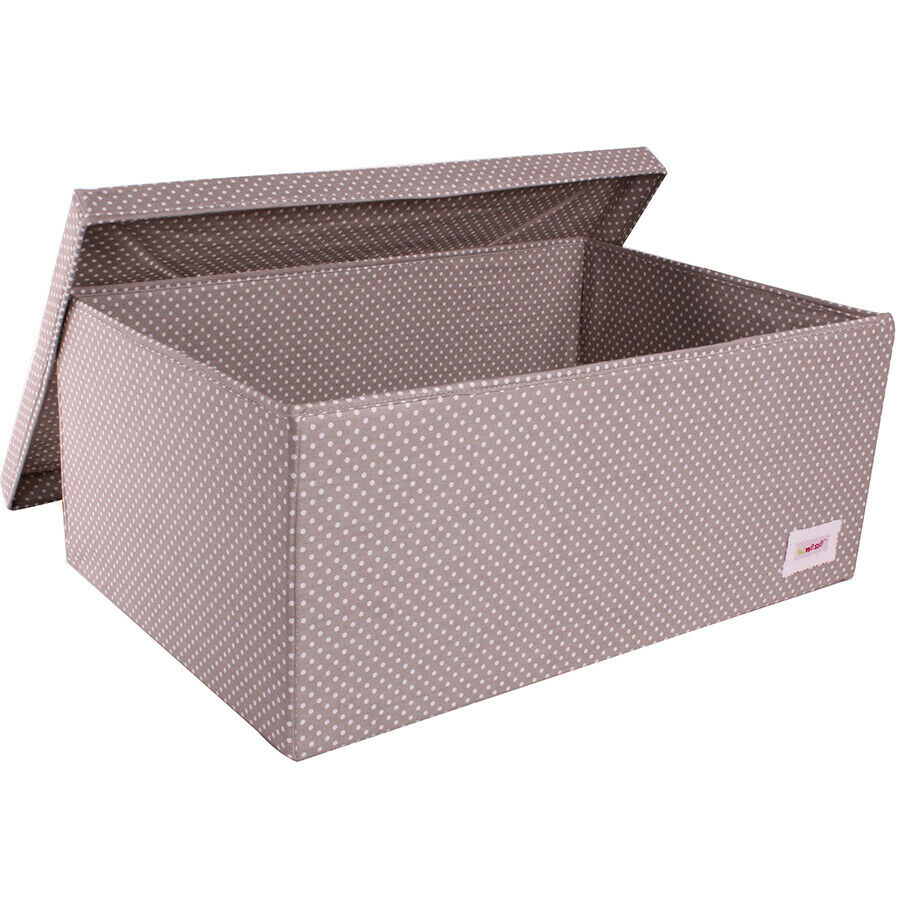 Minene underbed storage boxes collapsible fabric storage for Fabric storage