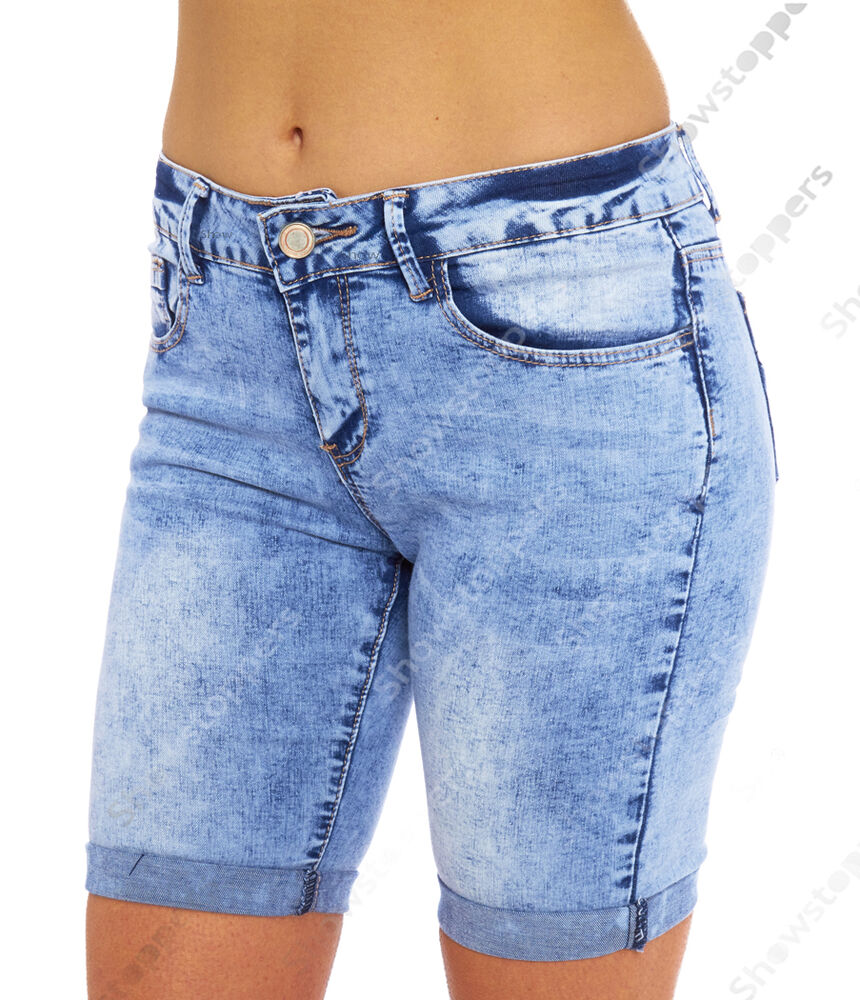 Find denim knee length shorts for women at ShopStyle. Shop the latest collection of denim knee length shorts for women from the most popular stores -.