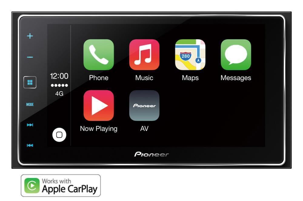 pioneer sph da120 double din usb aux apple car play android bluetooth car stereo ebay. Black Bedroom Furniture Sets. Home Design Ideas