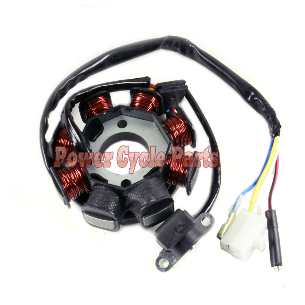 gy6 8 pole stator wiring diagram electric motor wiring