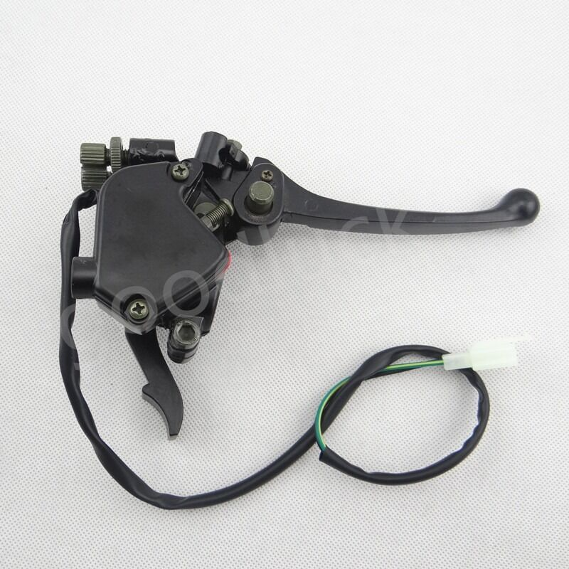 Throttle Lever Assembly : Thumb throttle brake lever assembly for cc