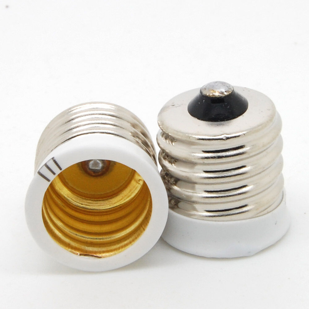 E17 To European E14 Candelabra Base Socket Led Light Bulb Lamp Adapter Holder Sx Ebay