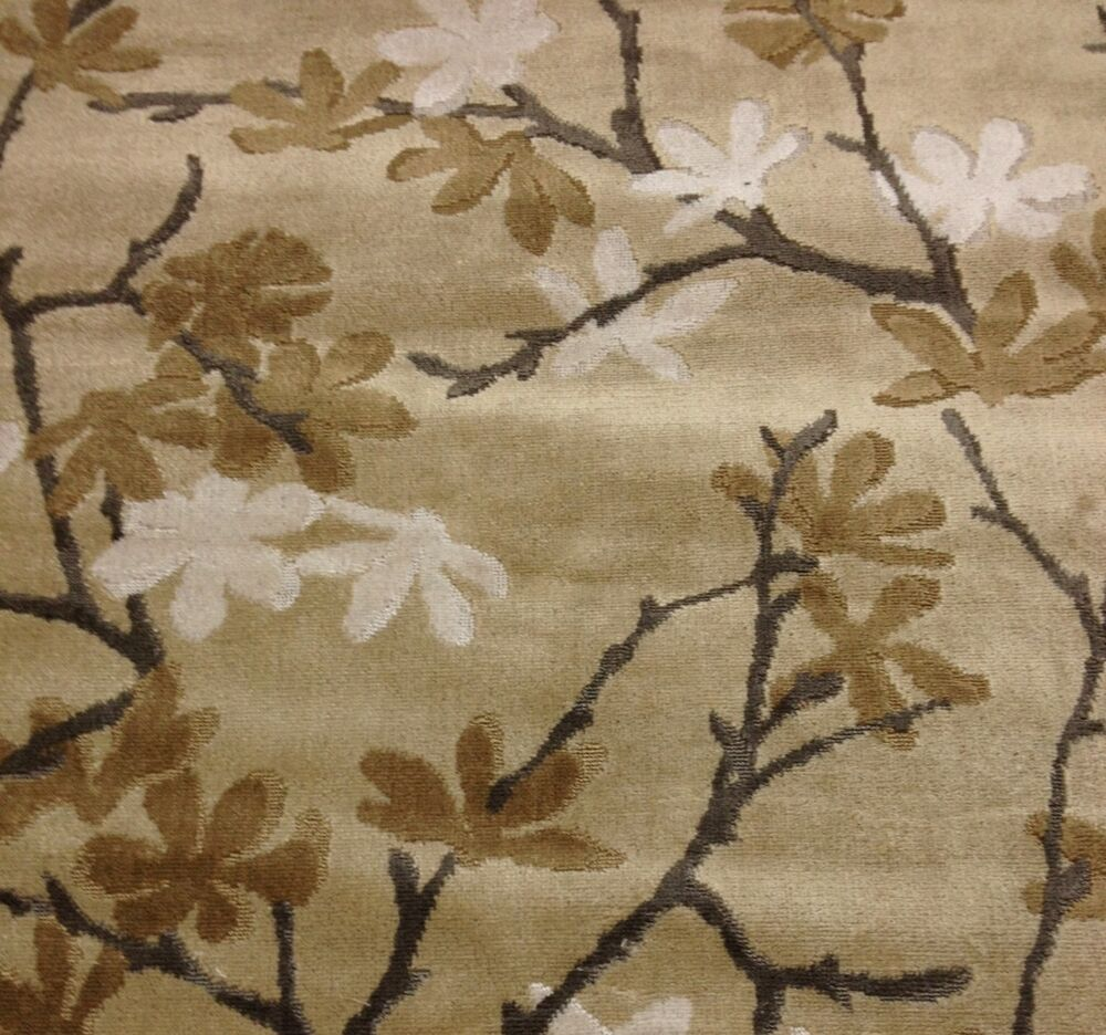 Donghia tryst rogue taupe floral vine linen velvet for Purchase fabric by the yard