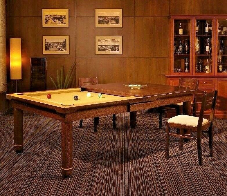 Quot Nice Quot 7 Vision Convertible Pool Billiard Table Dining