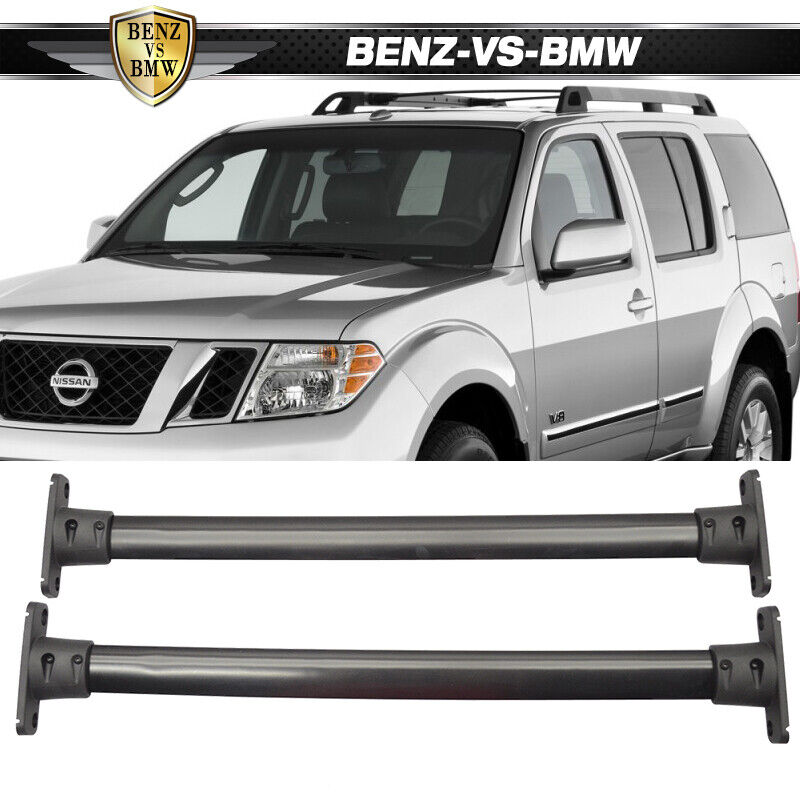 Fit For 05 12 Nissan Pathfinder Cross Bar Top Roof Rack