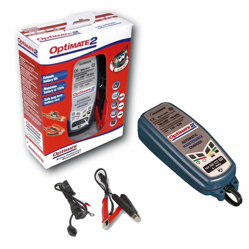 Optimate Motorcycle Battery Trickle Charger