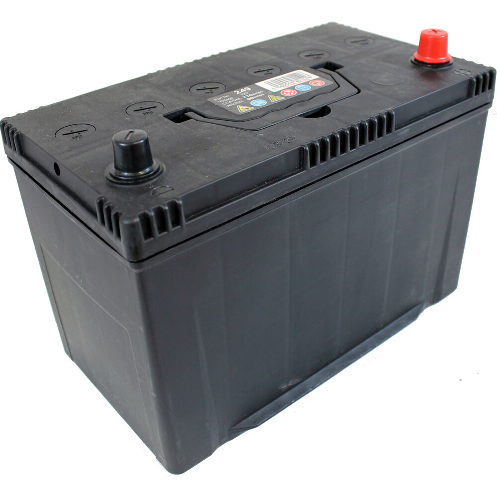 1x replacement 90ah 730cca 12v type 249 car battery 2 year. Black Bedroom Furniture Sets. Home Design Ideas