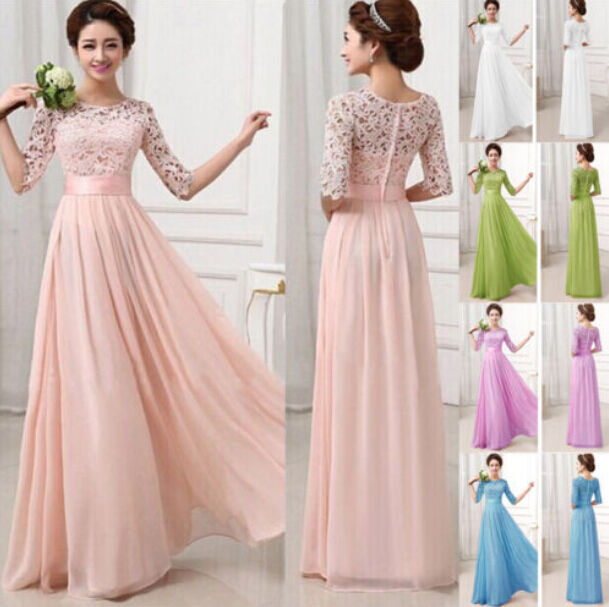 Birthday Dress For Womens: New Womens Ladies Evening Formal Prom Bridesmaid Party