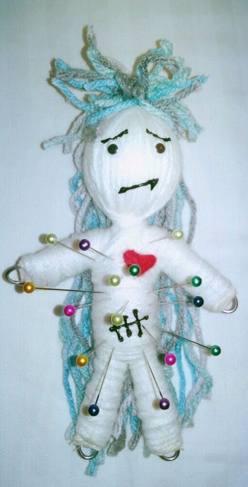 Authentic Voodoo Doll Worried real 7 pins guide new ...