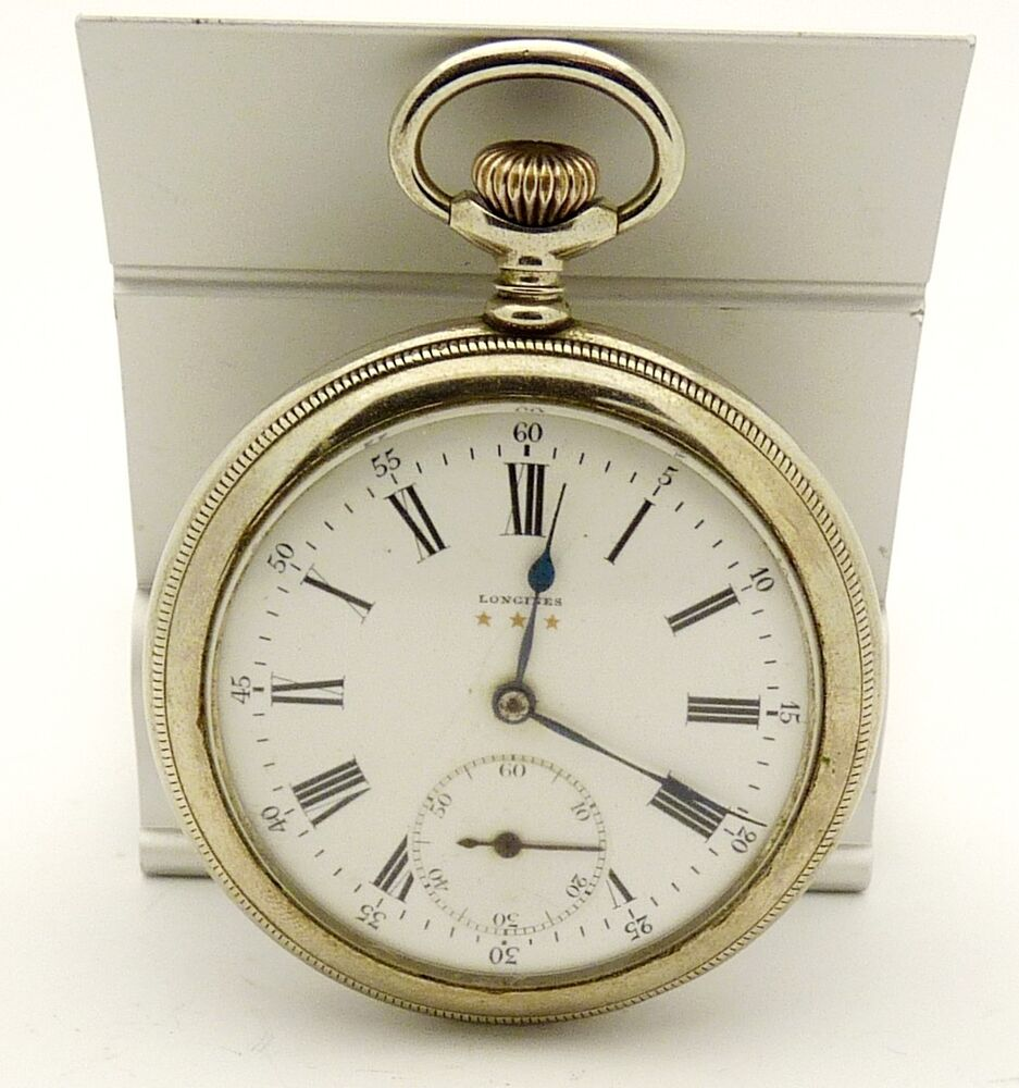 1925 longines 3 gold vintage antique pocket