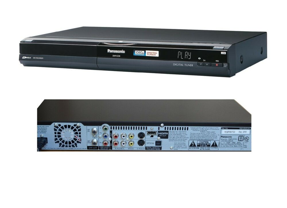panasonic multi region dmr ez28 dvd recorder freeview hdmi. Black Bedroom Furniture Sets. Home Design Ideas