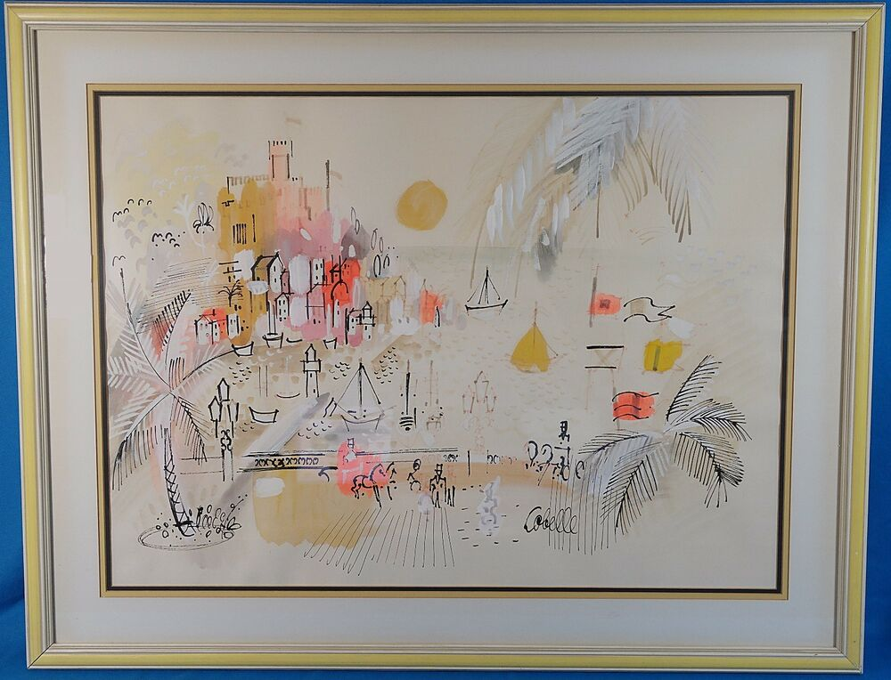 Charles Cobelle Original Acrylic Oil Painting & Mixed