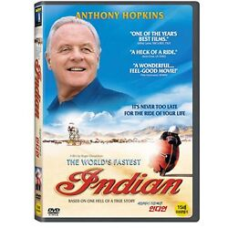 The World's Fastest Indian - Roger Donaldson, Anthony Hopkins, 2005 / NEW