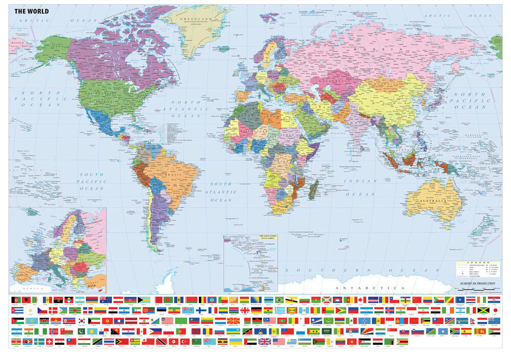 Wall size world map poster 28 images large laminated world map wall size world map poster waterproof size laminated world map with flags poster print wall ebay gumiabroncs Images