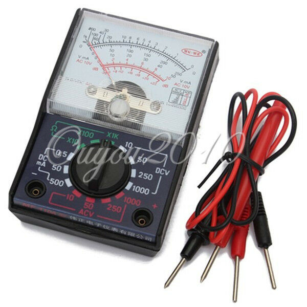 All In One Electrical Testers : Analogue multimeter multi read electrical circuit tester