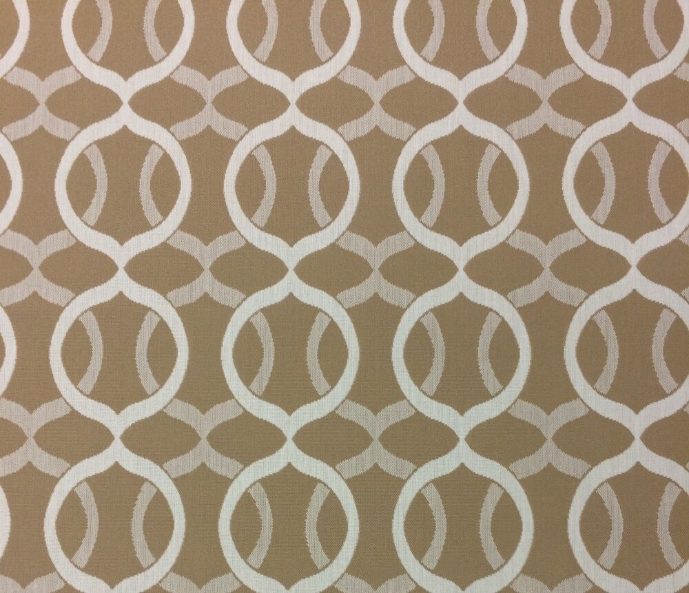 Outdura locket sisal beige trellis outdoor indoor fabric for Outdoor fabric by the yard