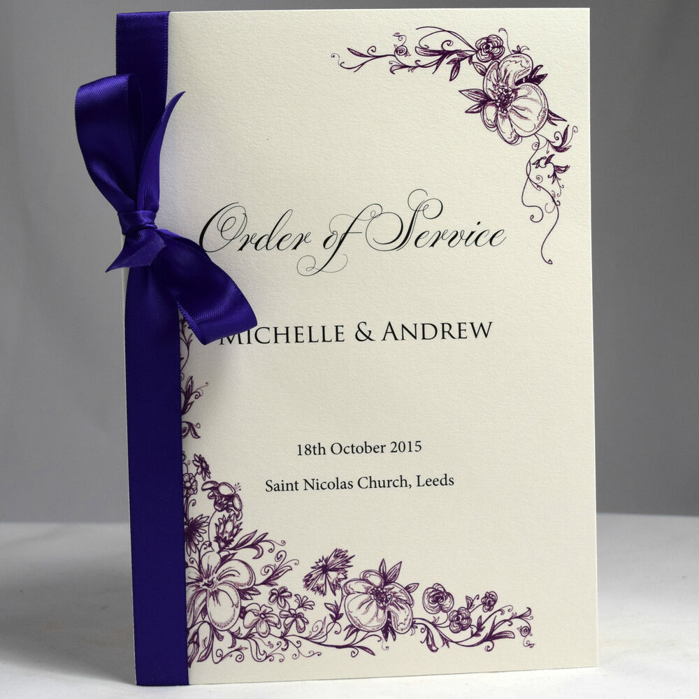 Wedding Invitation Booklet is beautiful invitation sample