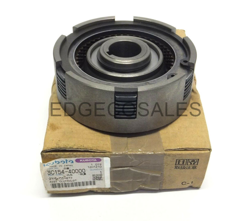Tractor Clutch Assembly : Kubota quot m series tractor clutch assembly c  ebay