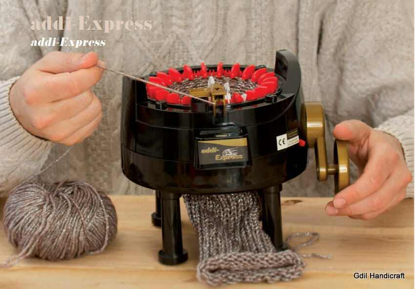 Knitting Equipment Uk : Addi express professional circular knitting machine