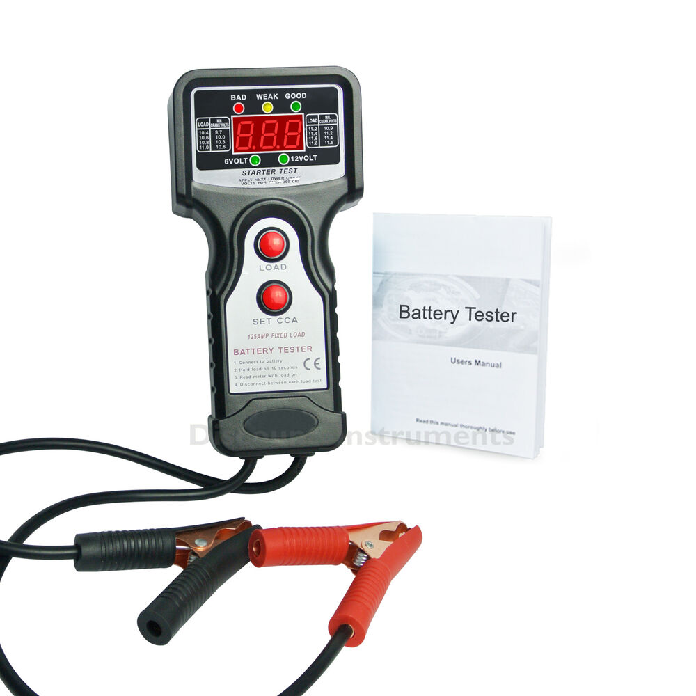 Vehicle Battery Tester : Digital car battery load tester go carz