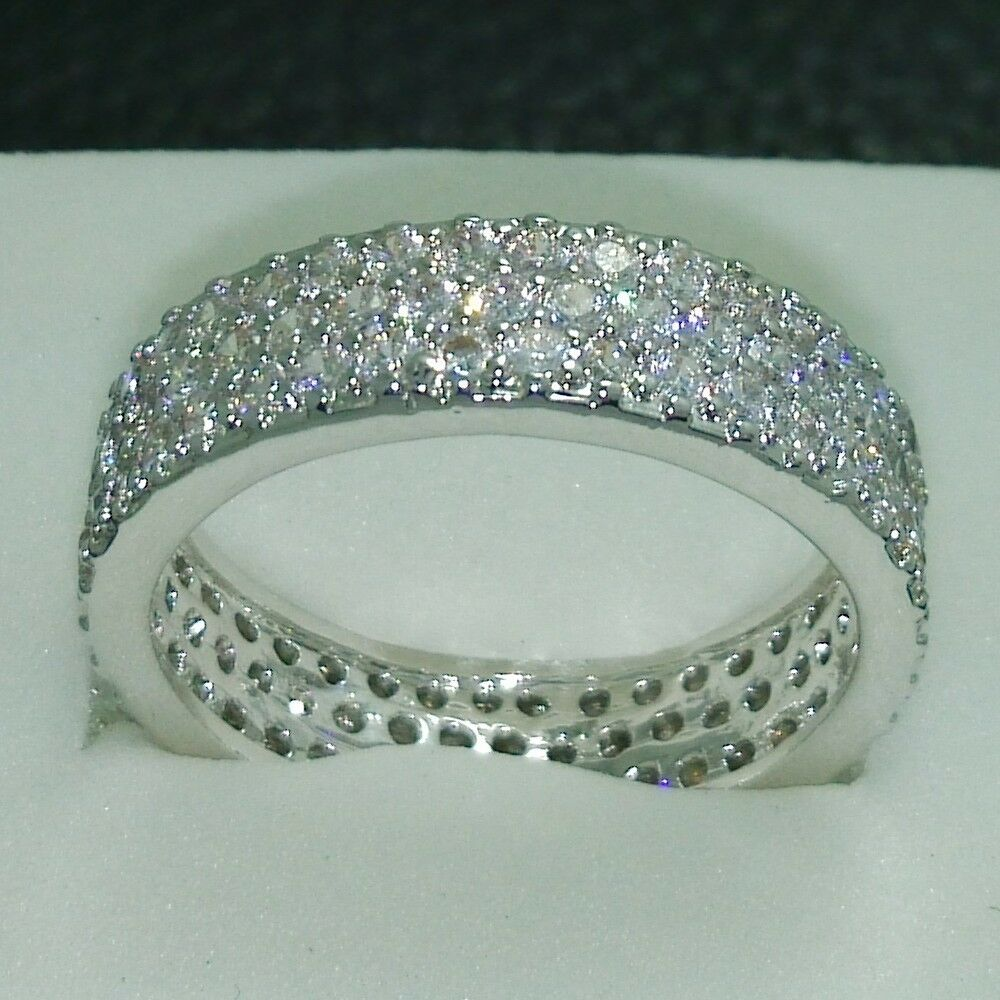 Diamonique Rings Wedding Rings Image