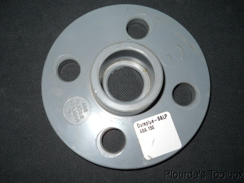 New durapipe abs quot class e full face socket weld flange