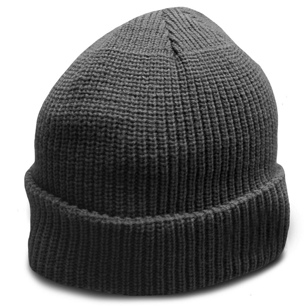 Details about Heavyweight Ultra Warm Wool Military Army Commando Watch Cap  Beanie Hat Black c3e04d498bfb