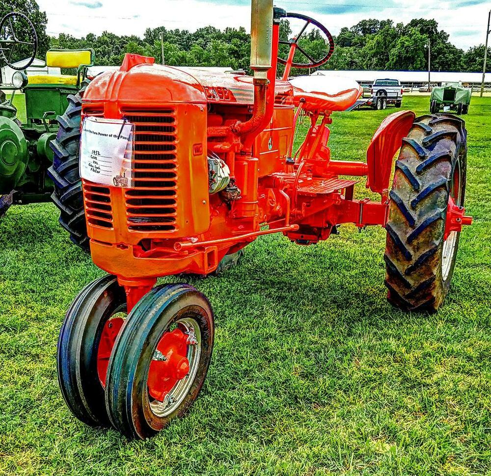 Case Vac Tractor Data : Old photo red case vac tractor ebay