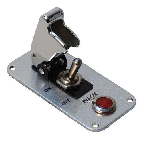 Pilot Pl Sw52cr Aircraft Toggle Switch Panel 1 Switch With