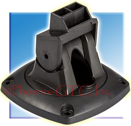 Lowrance qrb 5 mounting bracket for elite 3 3x elite 4 4m for Lowrance hook 7 trolling motor mount