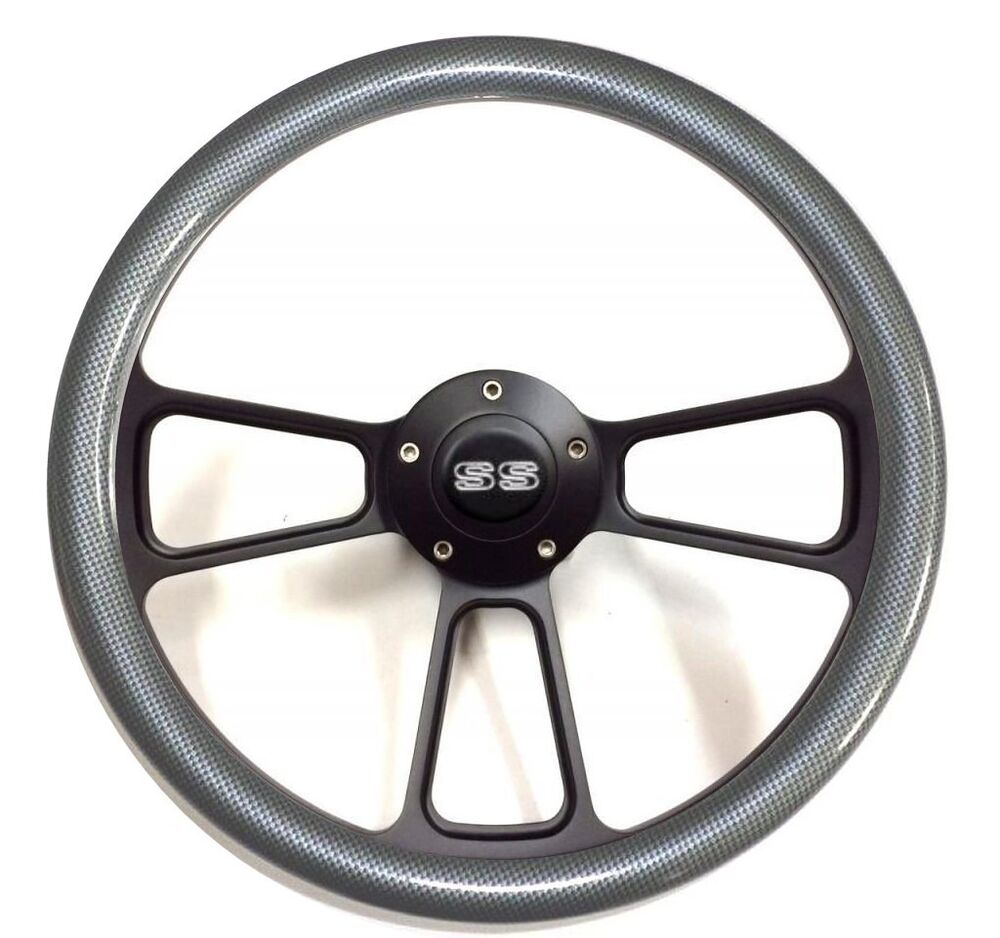 Chevelle El Camino Carbon Fiber Steering Wheel Chevy