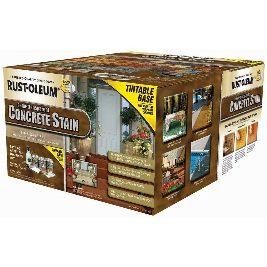 Rust oleum 3 gallon exterior gloss porch and floor clear for Buying paint at lowes