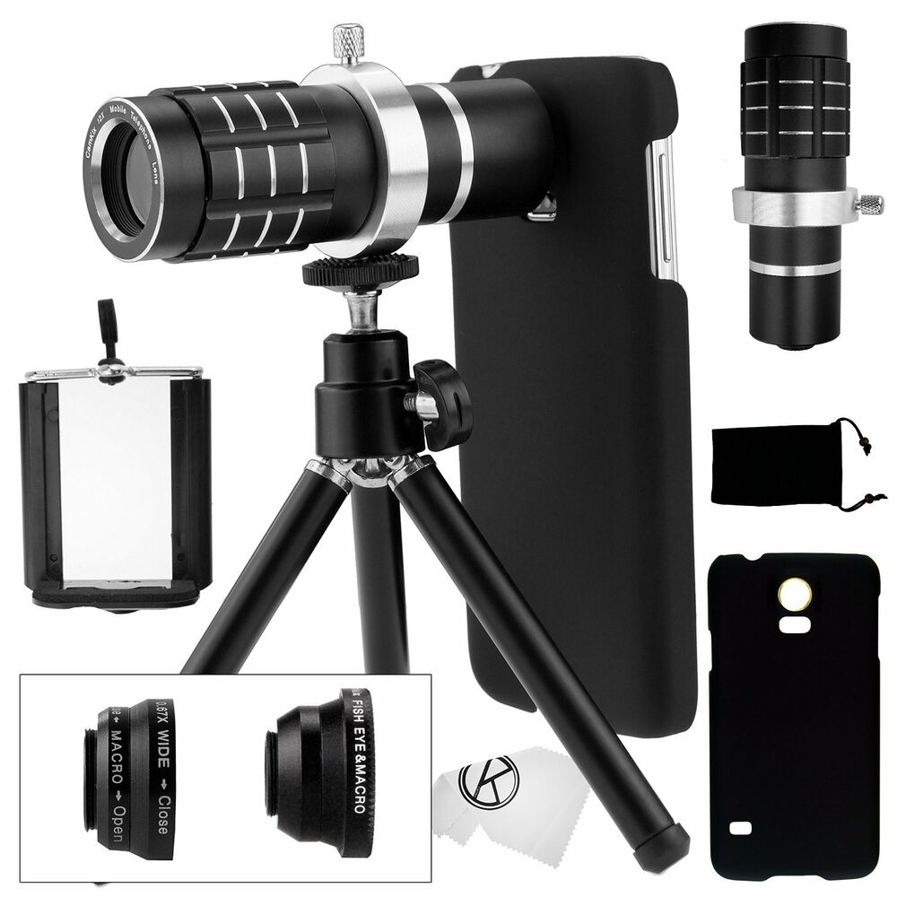 samsung galaxy s5 telephoto lens camera phone set. Black Bedroom Furniture Sets. Home Design Ideas
