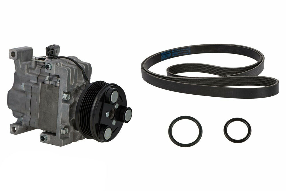 2007 2008 mazda cx 7 a c compressor kit w belt genuine oem. Black Bedroom Furniture Sets. Home Design Ideas