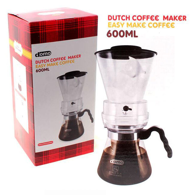 DOMO Cold Brew Dutch Coffee Maker SET Water Drip Coffee 600mL No Electicity eBay