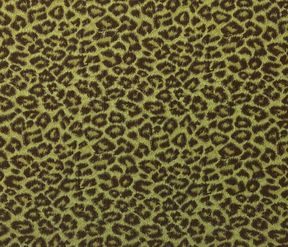 Outdura Wild Thing Patina Brown Green Leopard Outdoor