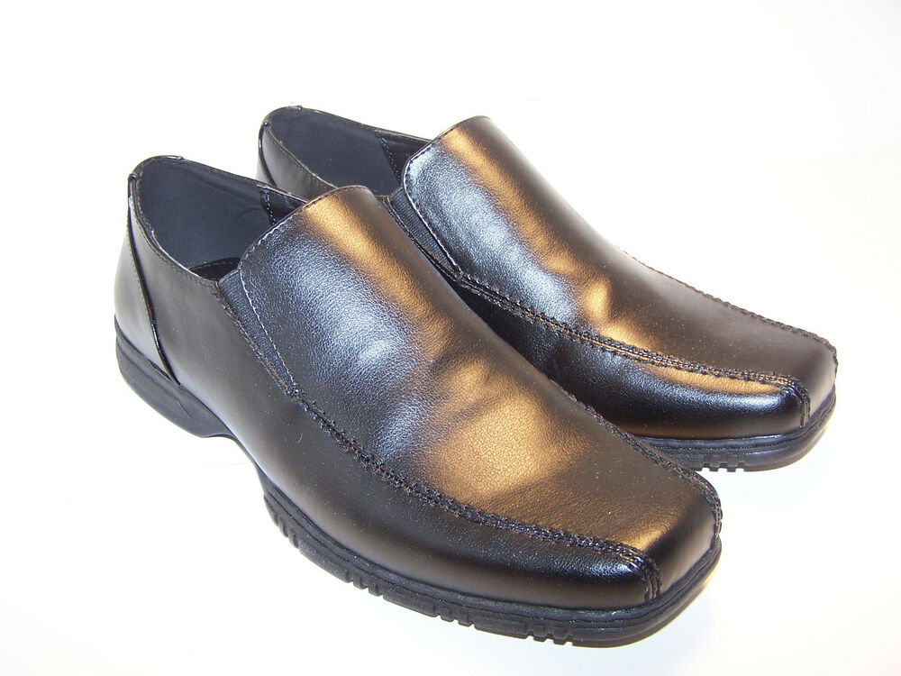 apt 9 s casual dress shoes black loafers