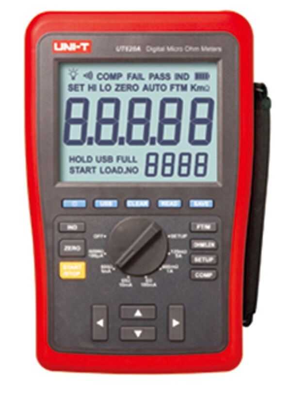 1 Meter Wire Current : Ut a four wire low resistance length tester micro